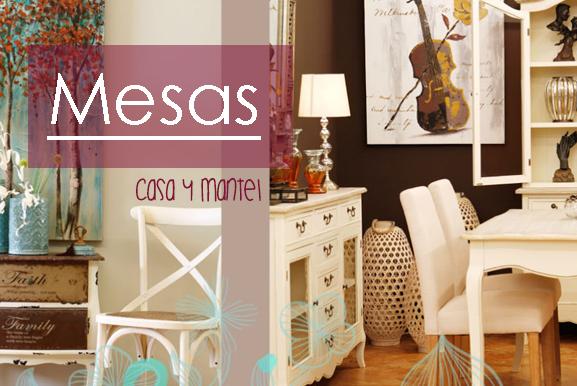 Mesas y Sillas para tu hogar.