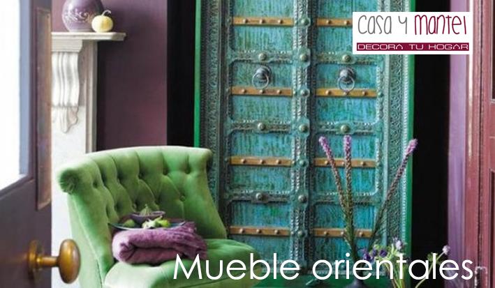 Muebles orientales casa y mantel for Muebles orientales online