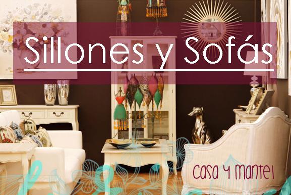 Sof s casa y mantel for Sillones clasicos baratos