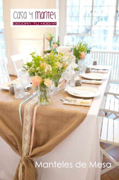 Manteles de mesa y manteles antimanchas tefl n casa y mantel - Tipos de manteles ...
