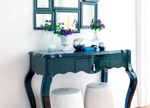Que tus invitados hablen de ti casa y mantel for Muebles para la entrada de la casa