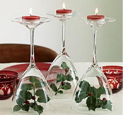 Centro de mesa navidad Casa y Mantel