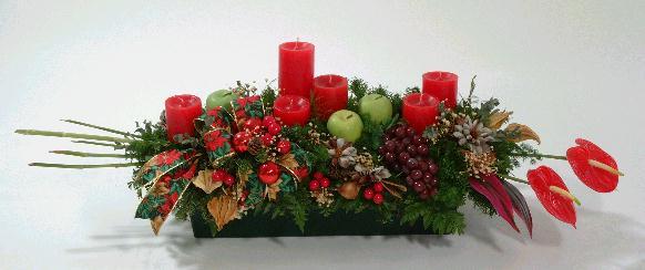 Centro de mesa navidad mesa