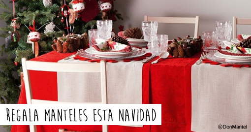 Mantelerias modernas manteles mantel blanco de algodn for Manteles mesas grandes