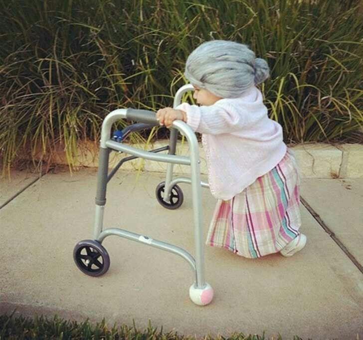 disfraz viejecita para bebes decora casa y mantel | Casa y Mantel