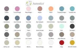 Pantone-Las-Auténticas- Chalk paint