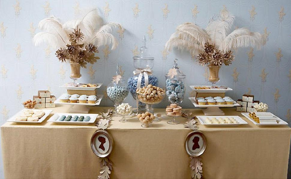 candy-bar-para-bodas mesa dulce don mantel manteles y mantelerías antimanchas
