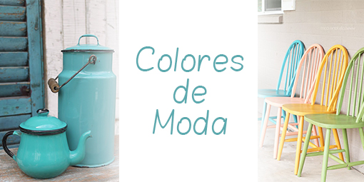 Pintura chalk paint casa y mantel for Colores de pintura de moda