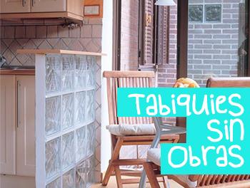 Tabiques sin Obras Isla Mueble decoración Online Manteles y Mantelerías Online