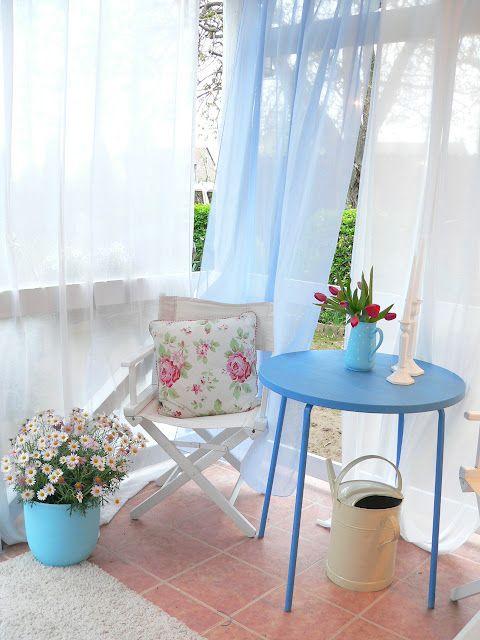 bonito balcon isla mueble decoración online