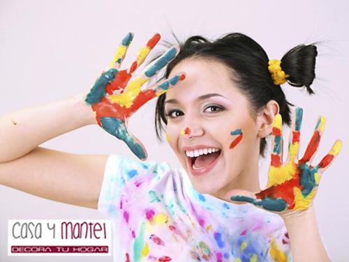 Como quitar la pintura de las manos casa y mantel - Como quitar la pintura de la pared ...