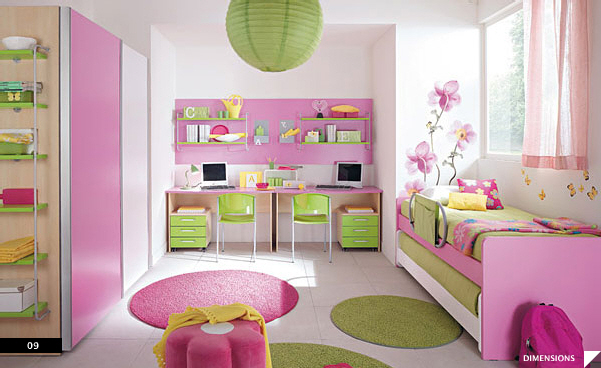 Asian-style-Girls-Room