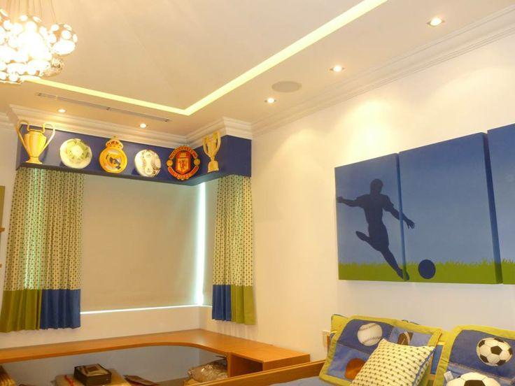 decoracion-habitacion-infantil-futbol-casaymantel