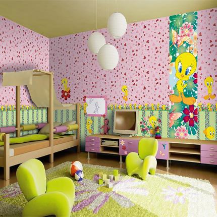 decoracion-infantil-piolin-ninas-casaymantel