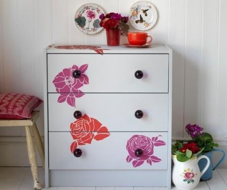decoracion-muebles-flores-vintage-decoupage-diy-casaymantel