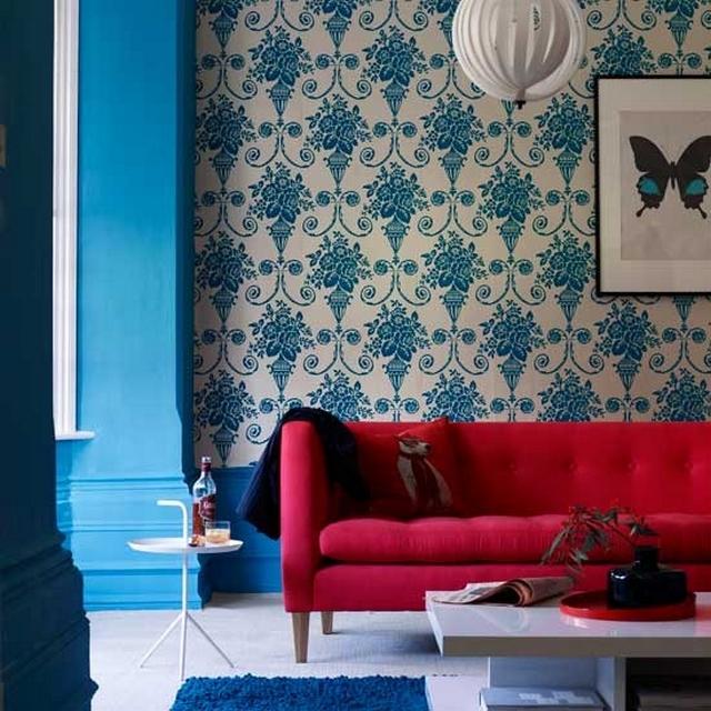 rojo-azul-decoración-casaymantel-ideas-atrevidas