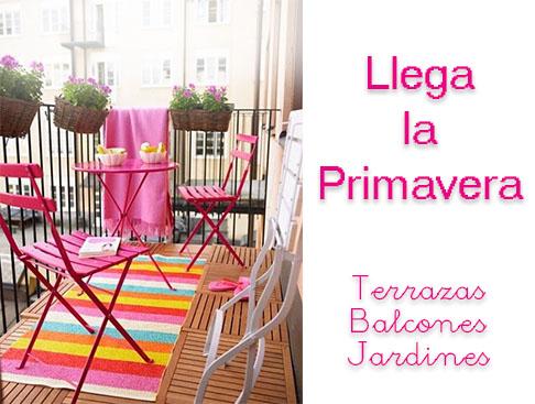 Primavera 2016 terrazas y balcones manteles y mantelerías online Don Mantel