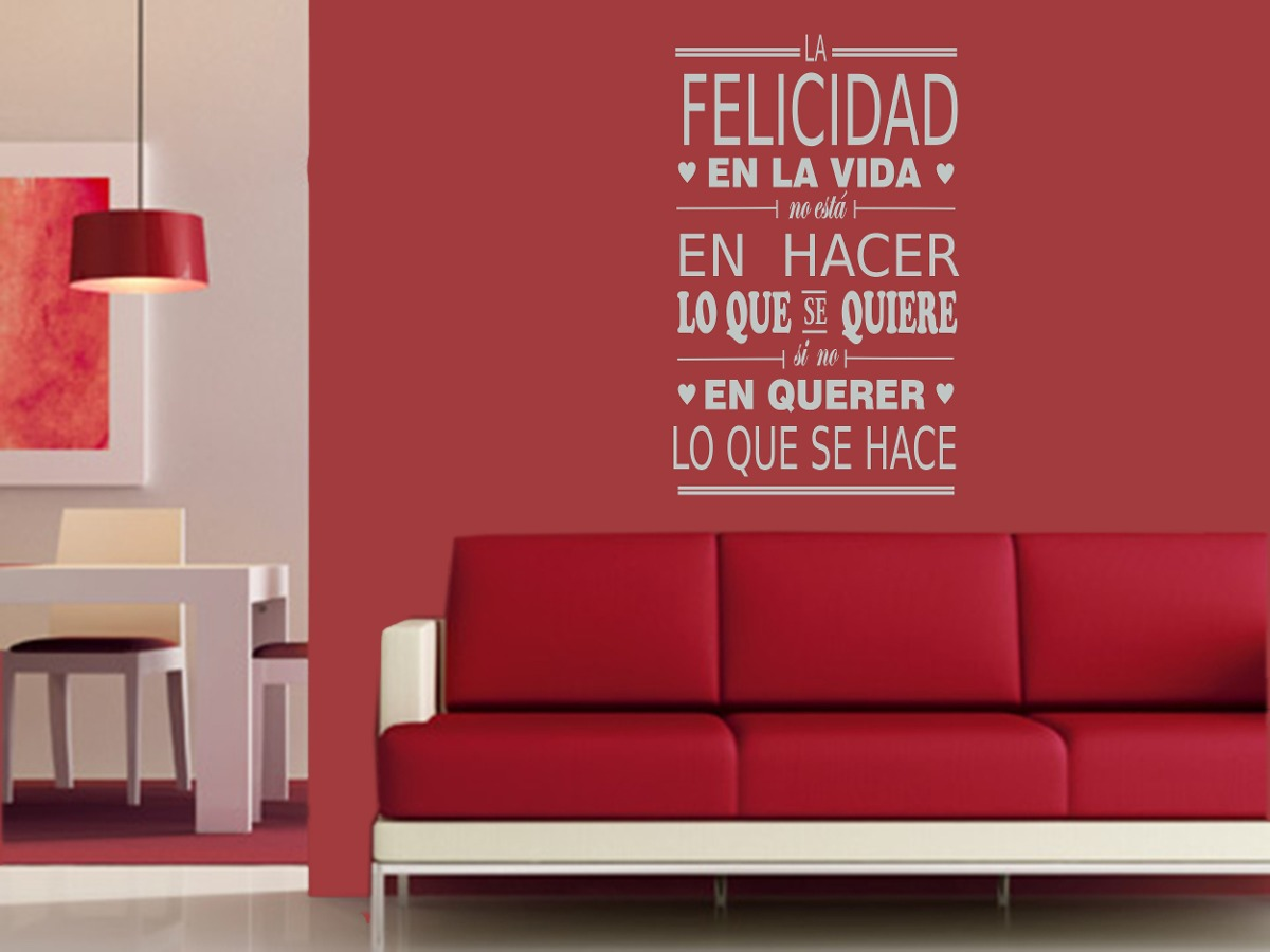 Manteles y muebles para la decoraci n de tu hogar casa y for Decoracion de interiores frases