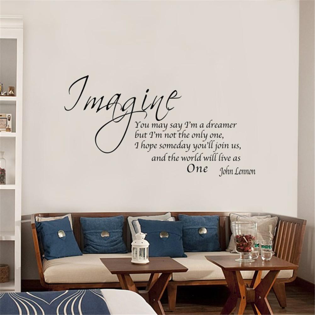 Manteles y muebles para la decoraci n de tu hogar casa y - Frases para paredes habitaciones ...