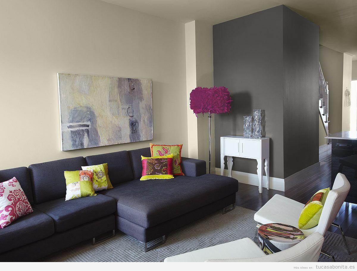 pintar paredes decoracion casaymantel 4 - Decoracion Pintura Paredes