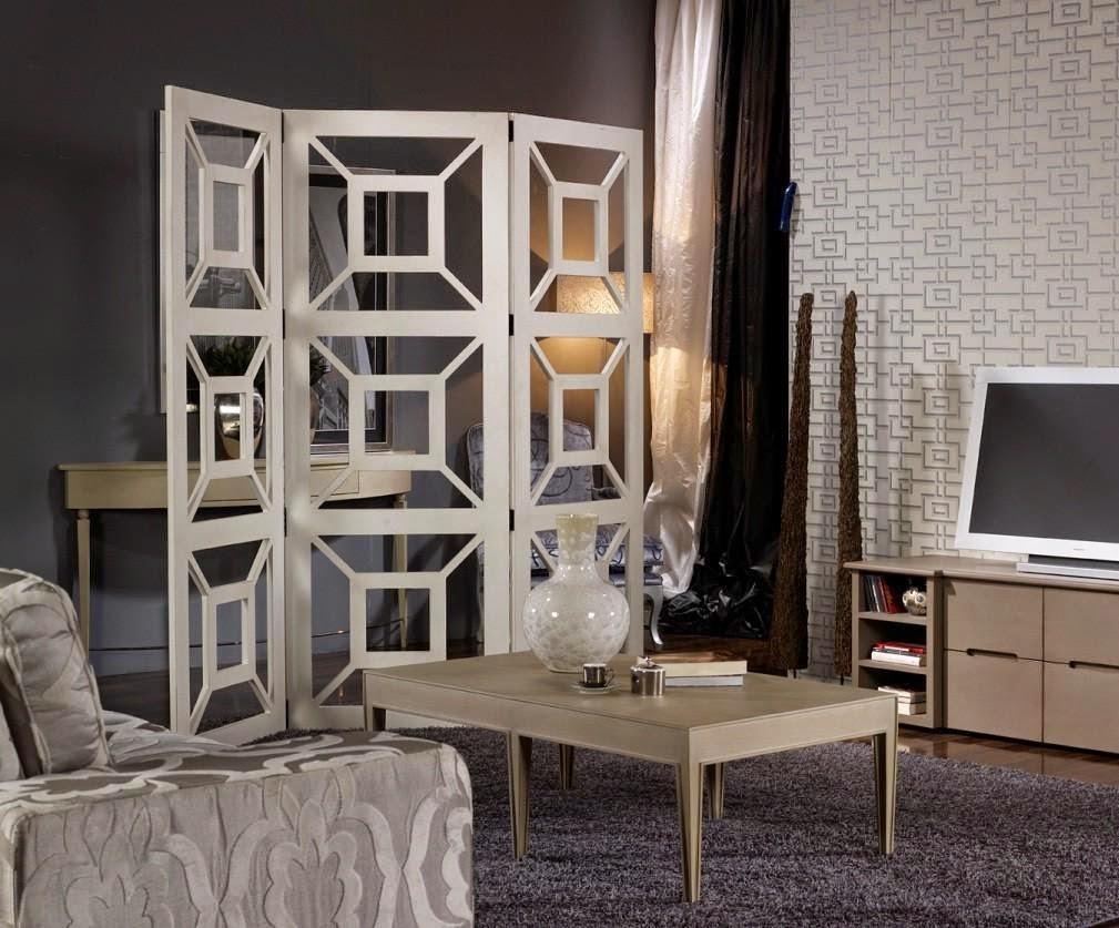 Biombos con encanto casa y mantel - Separadores de ambientes ...