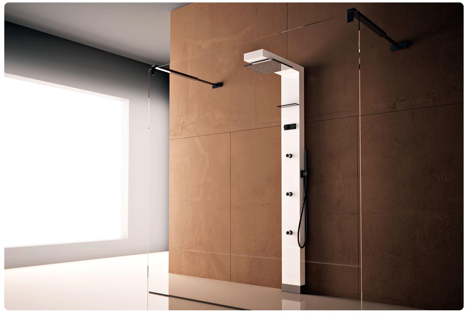 Moderno y relajante una buena opci n para tu ba o casa - Hacer una mampara de ducha ...