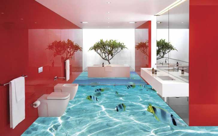 curiosidades de la decoraci n paredes y pisos 3d casa y