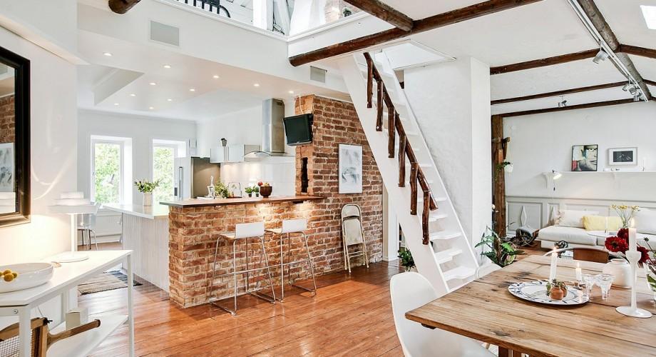 Manteles y muebles para la decorar tu hogar casa y - Estilo rustico moderno ...