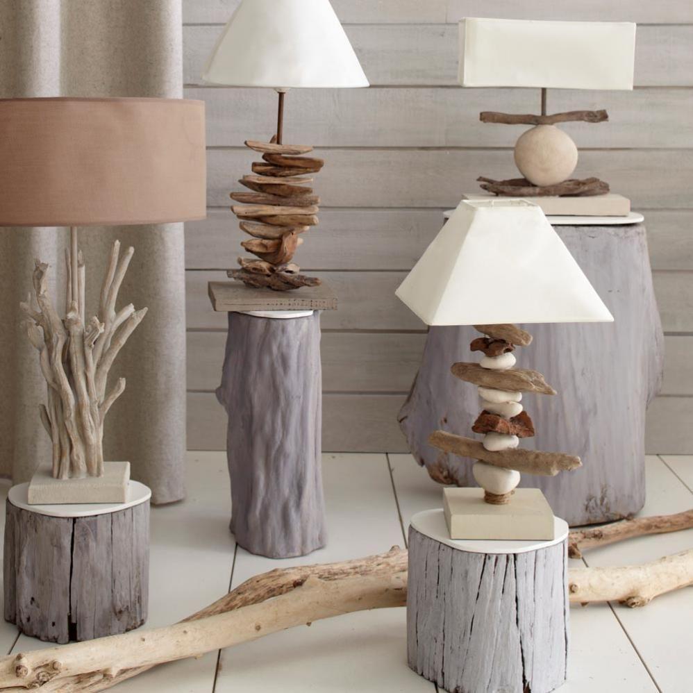 De la naturaleza a tu hogar casa y mantel - Objetos rusticos para decoracion ...