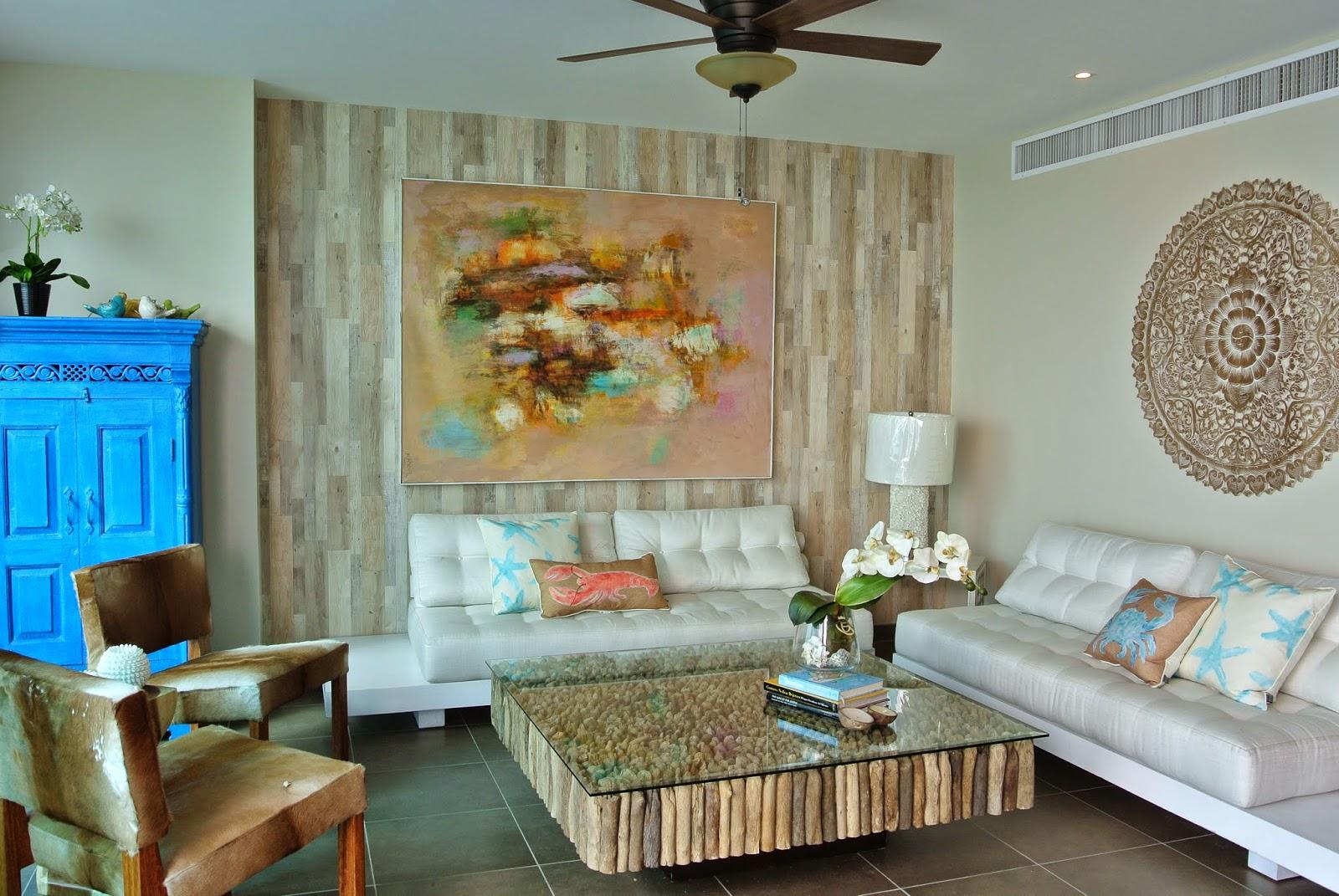 Decoraci n playera r stica ideal para el verano casa y - Decoracion apartamentos de playa ...