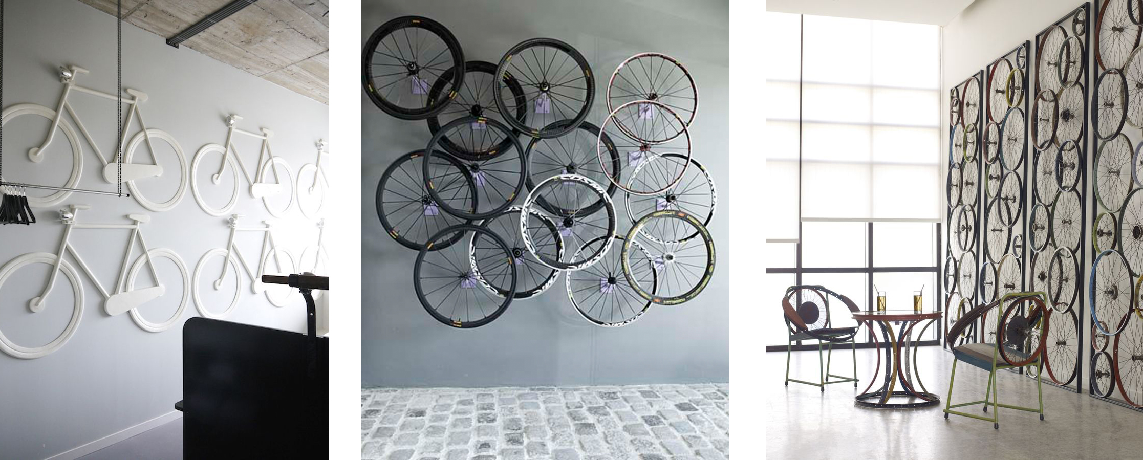Reutilizar para decorar bicicletas casa y mantel - Decorar la pared ...