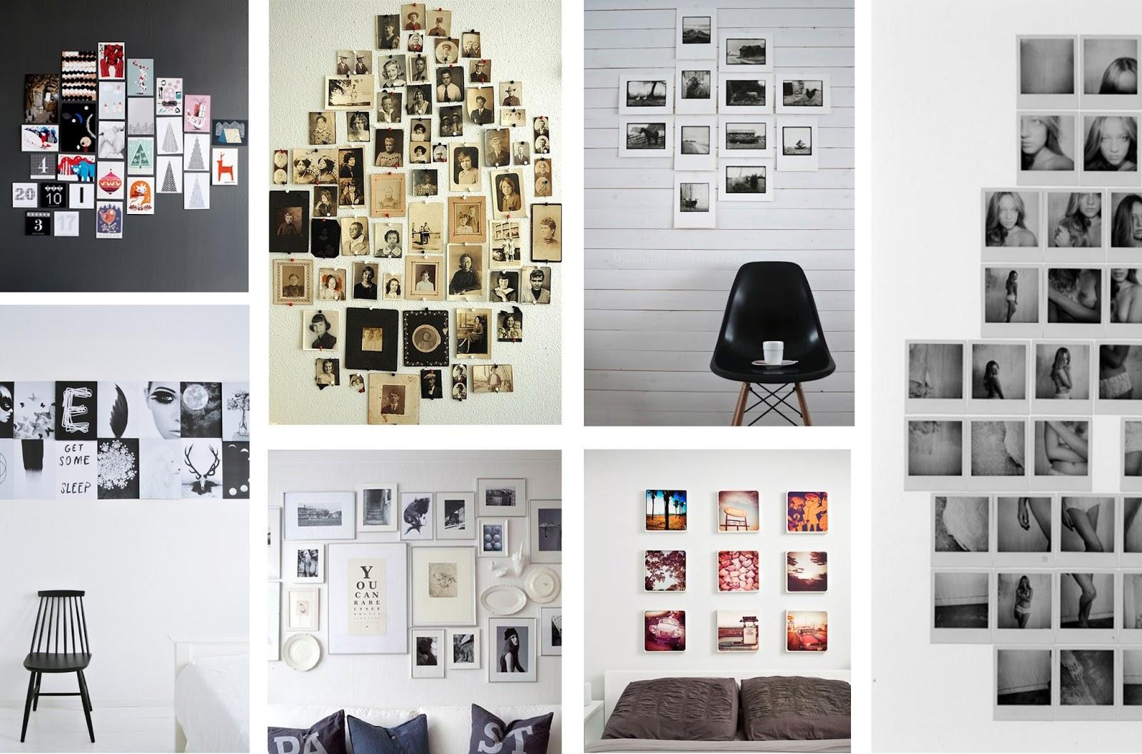 Bien pensado decoraci n con fotos casa y mantel - Decoracion de paredes con fotos ...