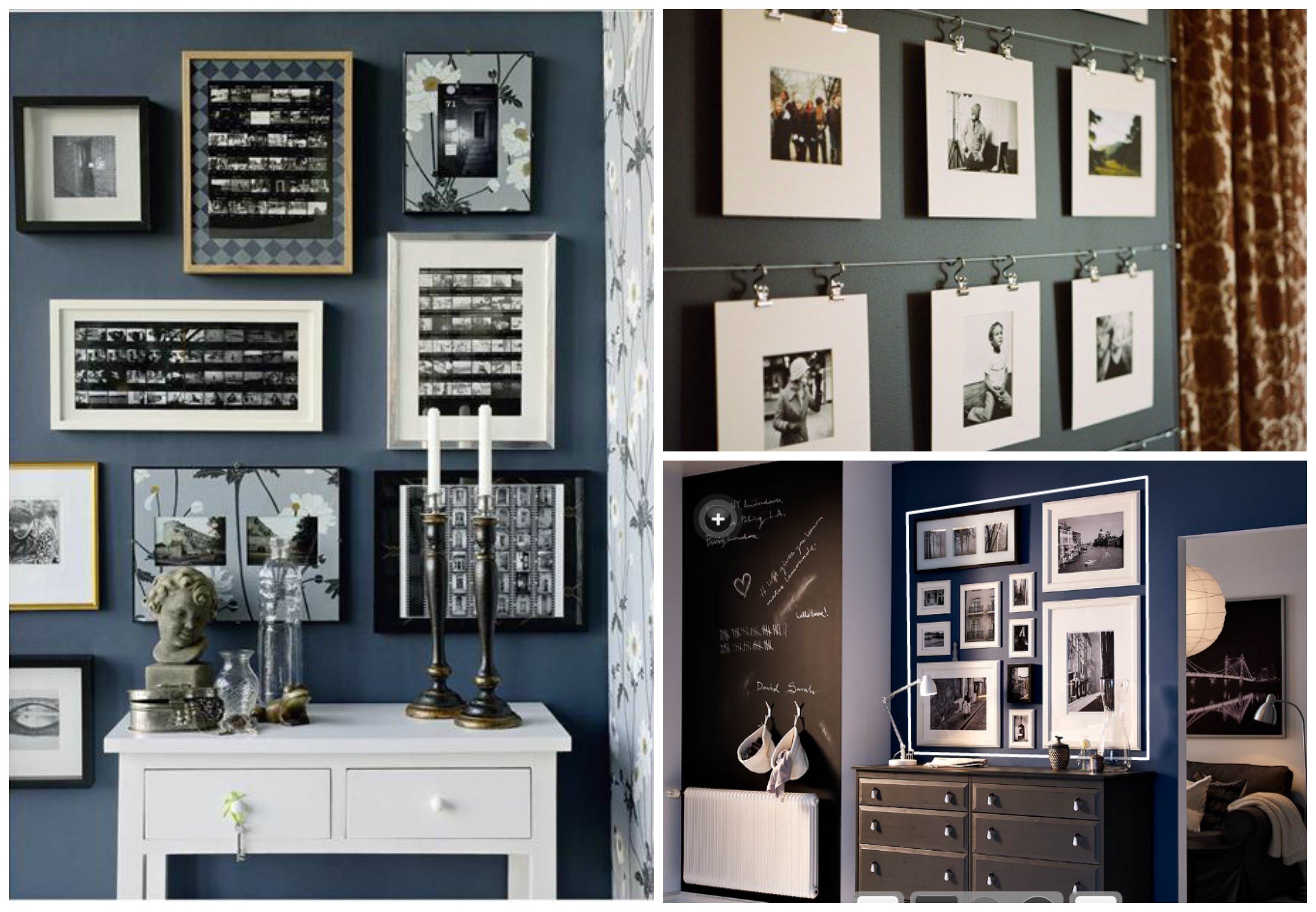 Bien pensado decoraci n con fotos casa y mantel for Decoracion con fotos