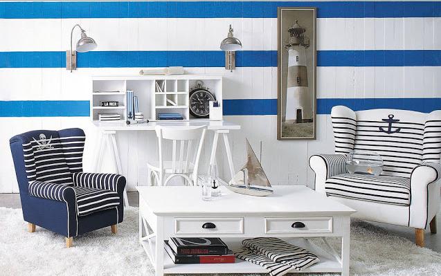 estilo marinero de decoracion