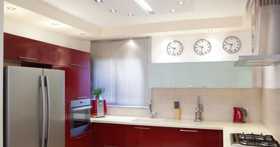 Ideas para decorar tu cocina el blanco y rojo vuelve - Ideas para decorar tu cocina ...