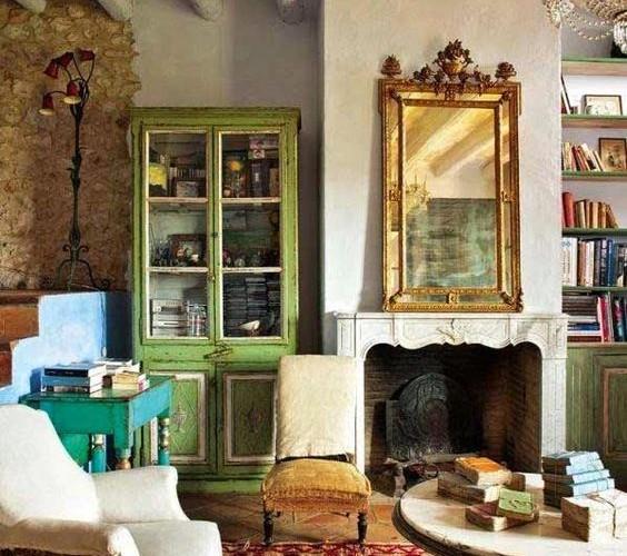 Manteles y muebles para la decorar tu hogar casa y - Decoracion hogar vintage ...