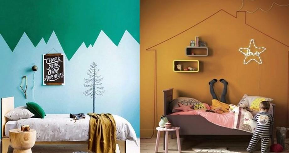 ideas originales para pintar una habitacion
