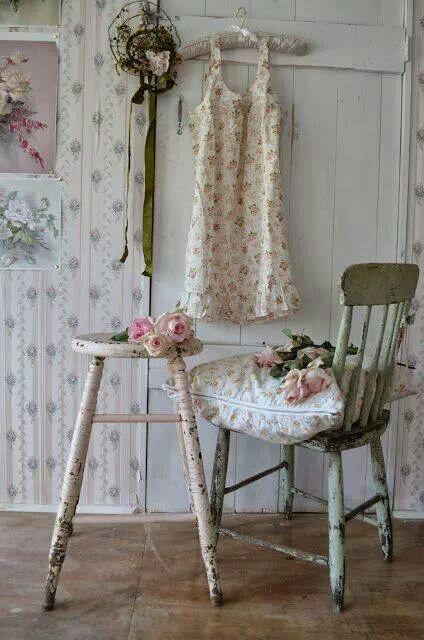 vintage dormitorio