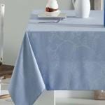 manteles-antimanchas-jacquard-azul-sandra