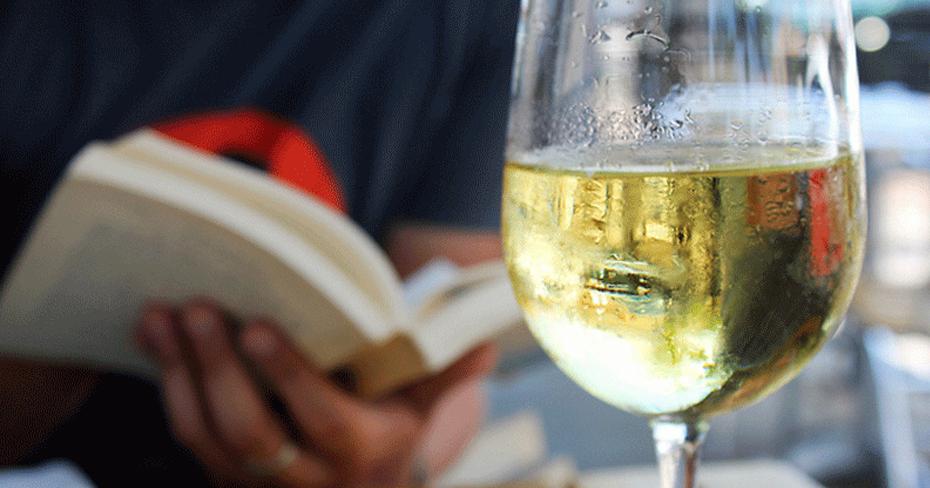 como elegir las copa de vino blanco